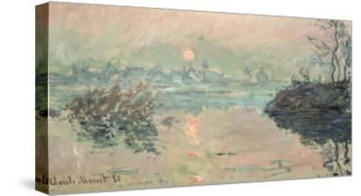Sunset, 1880-Claude Monet-Stretched Canvas Print