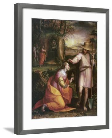 Noli Me Tangere, 1581-Lavinia Fontana-Framed Giclee Print