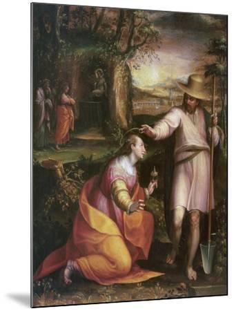 Noli Me Tangere, 1581-Lavinia Fontana-Mounted Giclee Print