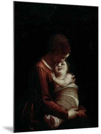 Madonna and Child, circa 1570-Luca Cambiaso-Mounted Giclee Print