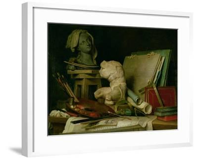 The Attributes of the Arts, 1769-Anne Vallayer-coster-Framed Giclee Print