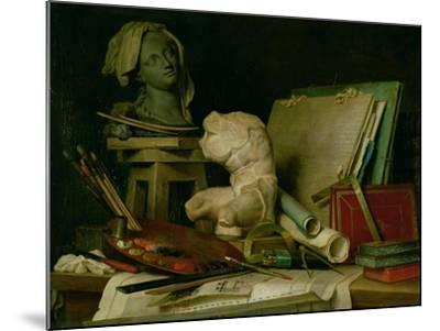 The Attributes of the Arts, 1769-Anne Vallayer-coster-Mounted Giclee Print