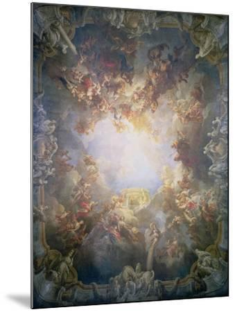 The Apotheosis of Hercules, from the Ceiling of the Salon of Hercules, 1733-6-Francois Lemoyne-Mounted Giclee Print