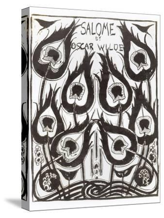 "Original Sketch for the Cover of ""Salome"" by Oscar Wilde circa 1894-Aubrey Beardsley-Stretched Canvas Print"