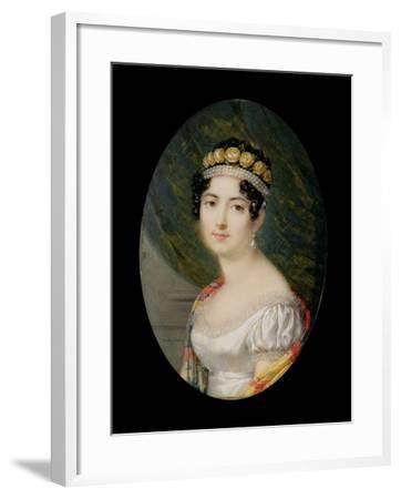 Portrait Miniature of the Empress Josephine-Andre Leon Larue-Framed Giclee Print