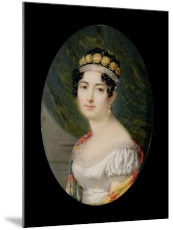 Portrait Miniature of the Empress Josephine-Andre Leon Larue-Mounted Giclee Print