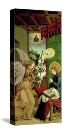 The Annunciation- Master Of Messkirch-Stretched Canvas Print