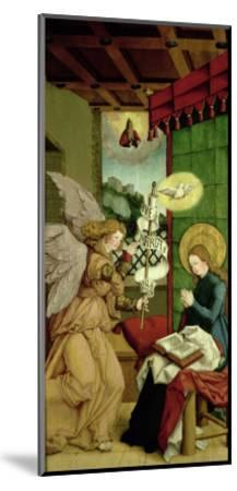 The Annunciation- Master Of Messkirch-Mounted Giclee Print