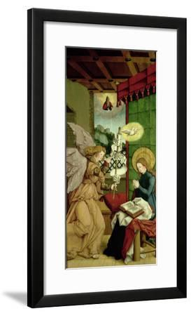 The Annunciation- Master Of Messkirch-Framed Giclee Print