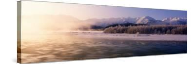 Chilkat River, Haines, Alaska, USA--Stretched Canvas Print