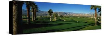 Golf Course, Desert Springs, California, USA--Stretched Canvas Print