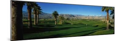 Golf Course, Desert Springs, California, USA--Mounted Photographic Print