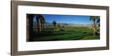 Golf Course, Desert Springs, California, USA--Framed Photographic Print