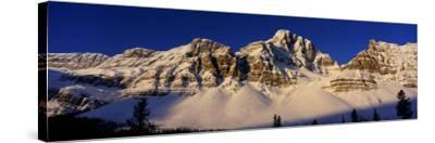 Rocky Mountains, Alberta, Canada--Stretched Canvas Print