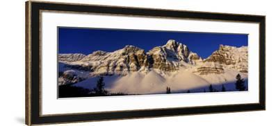 Rocky Mountains, Alberta, Canada--Framed Photographic Print