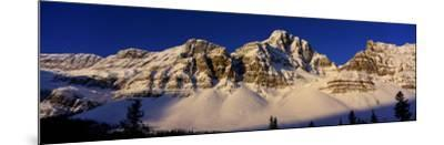 Rocky Mountains, Alberta, Canada--Mounted Photographic Print