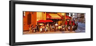 Cafe, Paris, France--Framed Photographic Print