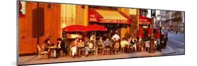 Cafe, Paris, France--Mounted Photographic Print