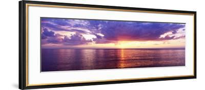 Sunset, Lake Superior, USA--Framed Photographic Print