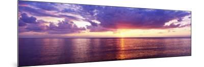 Sunset, Lake Superior, USA--Mounted Photographic Print