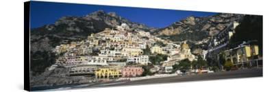 Amalfi Coast, Positano, Italy--Stretched Canvas Print