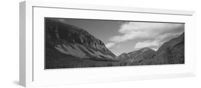 Clouds Over White Mountains, Franconia Notch State Park, New Hampshire, USA--Framed Photographic Print