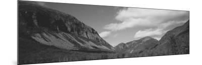Clouds Over White Mountains, Franconia Notch State Park, New Hampshire, USA--Mounted Photographic Print