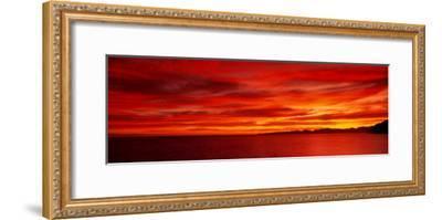 Sunrise, Water, Mulege, Baja, California, Mexico, United States--Framed Photographic Print