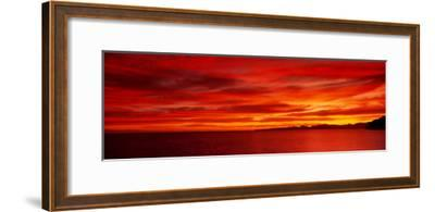 Sunrise, Water, Mulege, Baja, California, Mexico, United States--Framed Photographic Print