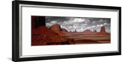 Mountains, West Coast, Monument Valley, Arizona, USA--Framed Photographic Print