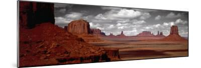 Mountains, West Coast, Monument Valley, Arizona, USA--Mounted Photographic Print