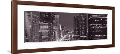 Wacker Drive, River, Chicago, Illinois, USA--Framed Photographic Print