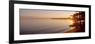 Stockton Island, Lake Superior, Wisconsin, USA--Framed Photographic Print