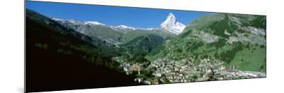 Zermatt, Switzerland--Mounted Photographic Print
