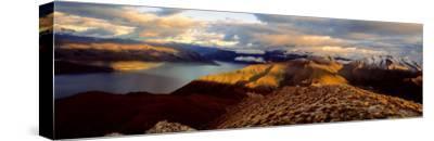Lake Hawea, South Island, New Zealand--Stretched Canvas Print