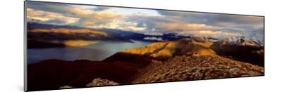 Lake Hawea, South Island, New Zealand--Mounted Photographic Print