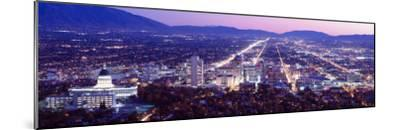 Salt Lake City, Utah, USA--Mounted Photographic Print