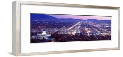 Salt Lake City, Utah, USA--Framed Photographic Print