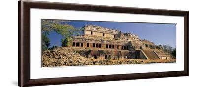 El Palacio, Sayil, Puuc Route, Yucatan, Mexico--Framed Photographic Print