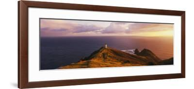 Lighthouse on Cape Reinga, Northland, New Zealand--Framed Photographic Print