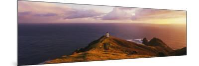 Lighthouse on Cape Reinga, Northland, New Zealand--Mounted Photographic Print