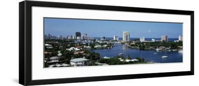 Fort Lauderdale, Florida, USA--Framed Photographic Print