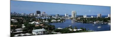 Fort Lauderdale, Florida, USA--Mounted Photographic Print
