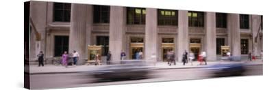 Financial District, Chicago, Illinois, USA--Stretched Canvas Print