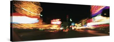 The Strip at Night, Las Vegas, Nevada, USA--Stretched Canvas Print