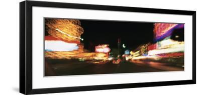 The Strip at Night, Las Vegas, Nevada, USA--Framed Photographic Print