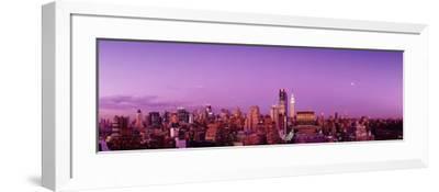 Midtown New York City, New York State, USA--Framed Photographic Print