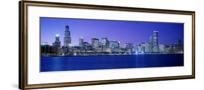 Chicago, Illinois, USA--Framed Photographic Print