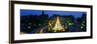 Christmas Lights, Metz, France--Framed Photographic Print