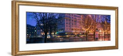 Evening, Paris, France--Framed Photographic Print